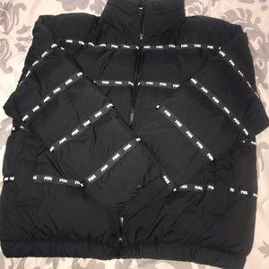 Reflective PINK bomber jacket